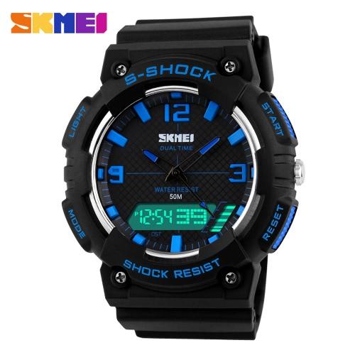 SKMEI 2016 Fashion Hot Sale Men Sports Military Watch Brand New Casual Wristwatch Men's Digital Watches