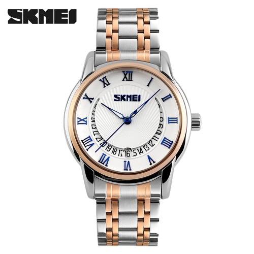 SKMEI 2016 New Arrival Fashion 30M Waterproof Dress Watches Men Business Quartz Watch Classic Luxury Wristwatch Black J1692BL