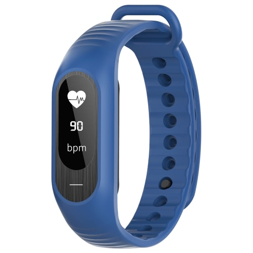 SKMEI BT4.0 Water-Proof Touch Screen OLED Smart Sports Bracelet Watch + Watch Box-Dark BlueLED Watches<br>SKMEI BT4.0 Water-Proof Touch Screen OLED Smart Sports Bracelet Watch + Watch Box-Dark Blue<br><br>Blade Length: 9.5cm