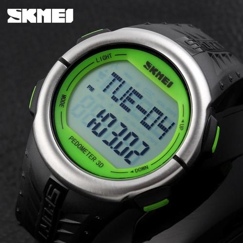 SKMEI Fashion Casual Pedometer Digital Sports Watch