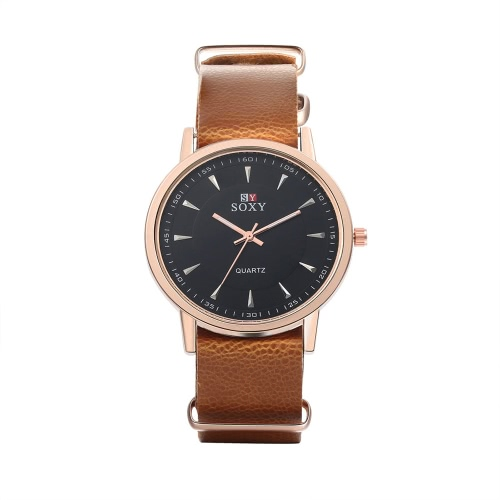 SOXY Business Casual Wrap Wrist Quartz Electronic Watch RoundQuartz Watches<br>SOXY Business Casual Wrap Wrist Quartz Electronic Watch Round<br><br>Product weight: 42.45g