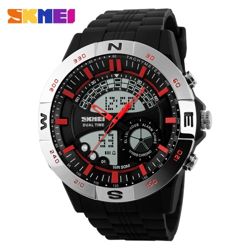 SKMEI 2016 New Brand Men Watch Casual Digital Watches Dual Time Display Waterproof Calendar Outdoor Sports WristwatchesSports watch<br>SKMEI 2016 New Brand Men Watch Casual Digital Watches Dual Time Display Waterproof Calendar Outdoor Sports Wristwatches<br><br>Blade Length: 12.0cm