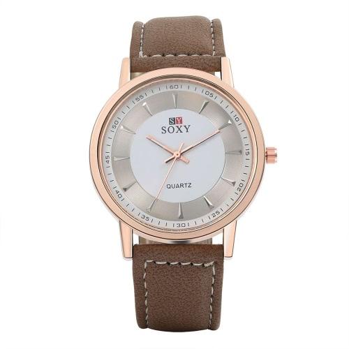 SOXY Business Casual Wrap Wrist Quartz Electronic WatchQuartz Watches<br>SOXY Business Casual Wrap Wrist Quartz Electronic Watch<br><br>Product weight: 42.45g
