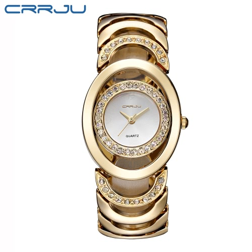 CRRJU Gorgeous 3ATM Daily Water Resistant Fashion Women Analog Dress Watch Elegant Bracelet Watch Simple Dial Wristwatch for LadyQuartz Watches<br>CRRJU Gorgeous 3ATM Daily Water Resistant Fashion Women Analog Dress Watch Elegant Bracelet Watch Simple Dial Wristwatch for Lady<br><br>Blade Length: 15.0cm