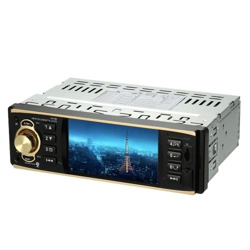 Buy 4.1 inch Universal TFT HD 1080P Digital Screen Car Radio MP5 Player Bluetooth Entertainment USB/TF FM Aux Input Steering Wheel Remote Control