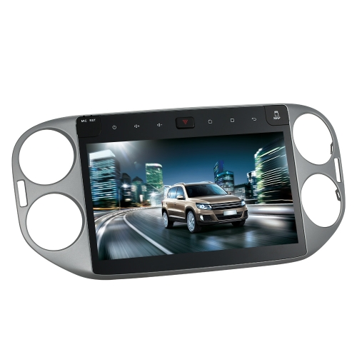 Buy 10.1 Inch HD Digital Touch Screen Car Multimedia Player Andriod GPS Navigation Dash 2 Din Double Radio Bluetooth PC Stereo Head Unit VW Tiguan 2013-2014 +Free Card Map
