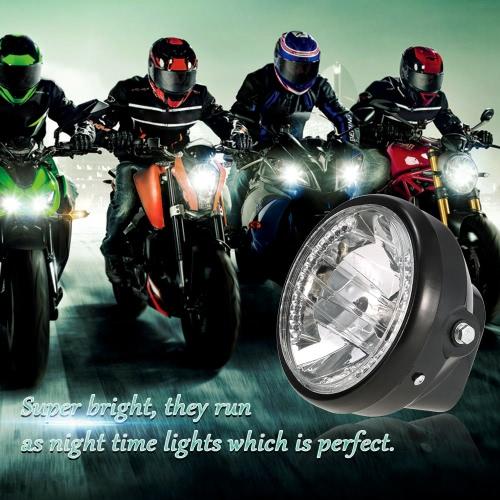 7 Motorcycle Headlight Round LED Turn Signal Indicators Yellow Light  UniversalLighting &amp; Indicators<br>7 Motorcycle Headlight Round LED Turn Signal Indicators Yellow Light  Universal<br><br>Blade Length: 17.5cm