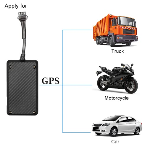 GPS Satellite GSM Tracker Anti-theft Voice Monitor SMS iOS Andriod APP Real Time Positioning Alarm for Car Motorcycle Truck от Tomtop.com INT