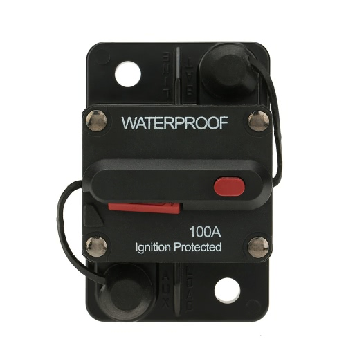 IZTOSS Waterproof 50Amp Circuit Breaker Overload Protection with Manual Reset Switch for Car Bus Truck Caravan Boat от Tomtop.com INT