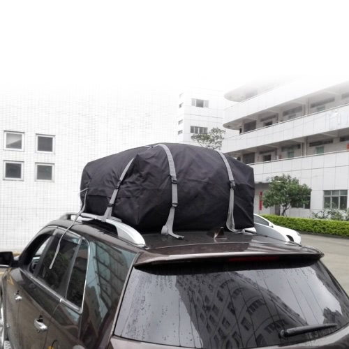Buy KKMOON Waterproof Roof Top Cargo Bag Expandable Luggage Travel Carrier Car SUV Van Rack