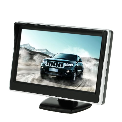 Buy 5 Inch TFT LCD Display Monitor Car Rear View Backup Reverse System + HD Parking Camera