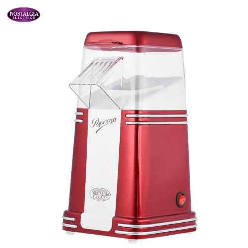 Nostalgia RHP310 Retro Series Electric Household Mini Hot Air Popcorn Maker Machine Corn Popper KB0014