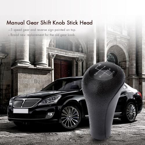 5 Speed Manual Gear Shift Knob Stick Head for BMW E28 E30 E34 E36 E46 Black от Tomtop.com INT