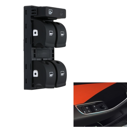 5 Button Car Modification Electronic Window Master Switch for Audi A4 B6 B7 02-05 от tomtop.com INT