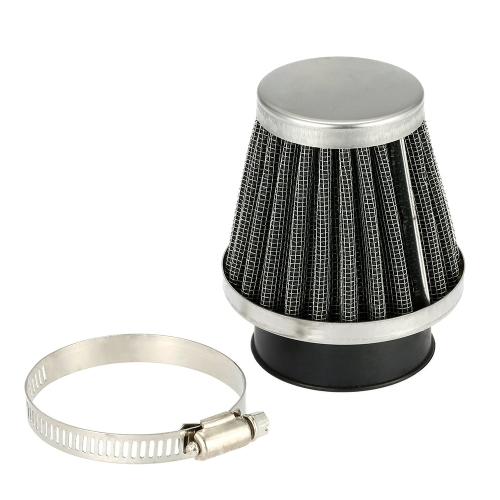 Double Layer Steel Filter Gauze Universal Motorcycle Motorbike Replacement Clamp-on Air Filter 50mm Mushroom Head Cleaner for Scooter Minibike ATV K3545-8