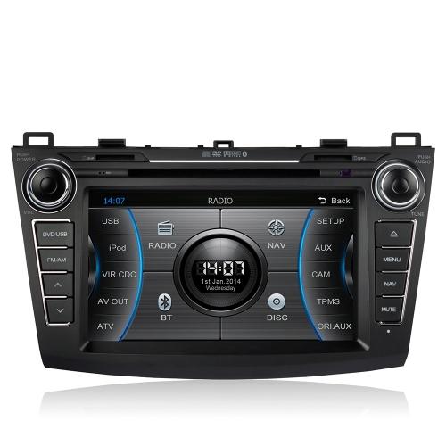 CASKA 8 Inch HD Touch Screen Car