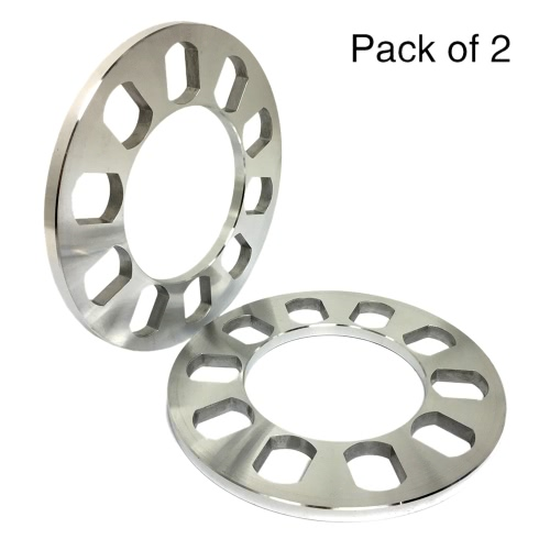 Tirol 2Pcs Universal 5 Hole Disc Brake Spacer Kit 8mm Thick Wheel SpacerTire Accessories<br>Tirol 2Pcs Universal 5 Hole Disc Brake Spacer Kit 8mm Thick Wheel Spacer<br><br>Blade Length: 25.0cm