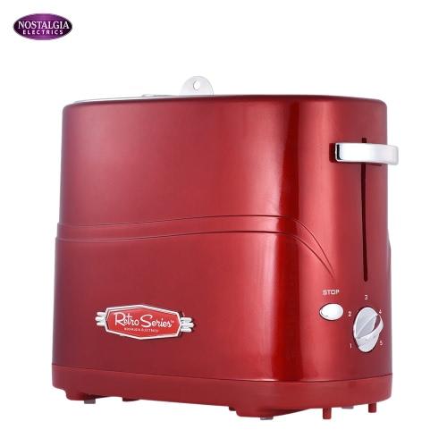 Nostalgia HDT600RETRORED Retro Series Mini Household Pop-Up Hot Dog Toaster Bun Maker Breakfast Machine KB0018