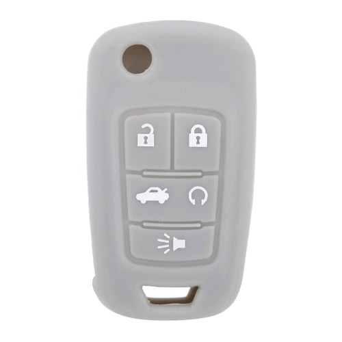 Silicone Car Remote Fob Key Case Cover for Buick Lacrosse Regal 5 buttons от Tomtop.com INT