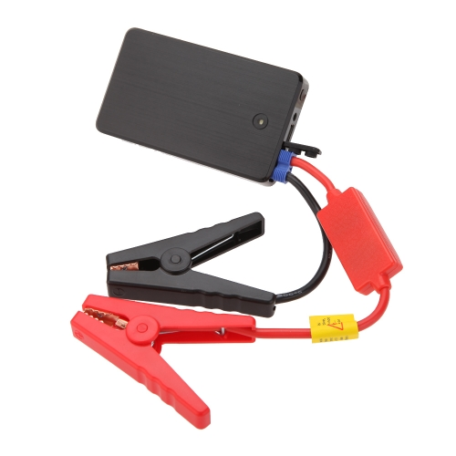 Buy 12V 10000mA Rechargeable Multi-Function Portable Mini Car Jump Starter Battery Mobile Power Bank LED Light SOS Function Gasoline Cellphone