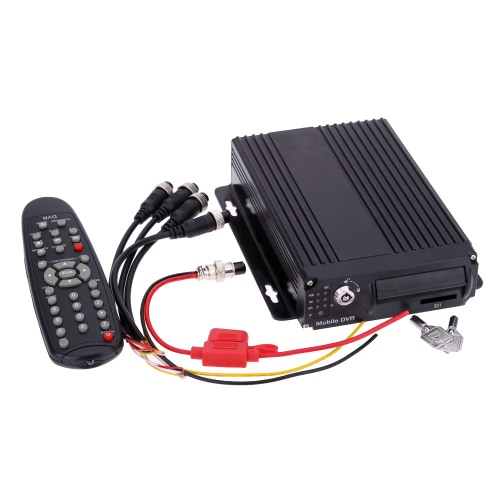 Mini CCTV 4CH Realtime SD Card Mobile Bus Car Vehicle DVR Recorder System от Tomtop.com INT