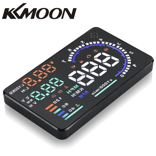 KKmoon 5.5 Large Screen Auto Car HUD Head Up Display KM/h &amp; MPH Speeding Warning Windshield Project System with OBD2 Interface Plug &amp; PlayDiagnostic Tools<br>KKmoon 5.5 Large Screen Auto Car HUD Head Up Display KM/h &amp; MPH Speeding Warning Windshield Project System with OBD2 Interface Plug &amp; Play<br><br>Blade Length: 17.0cm