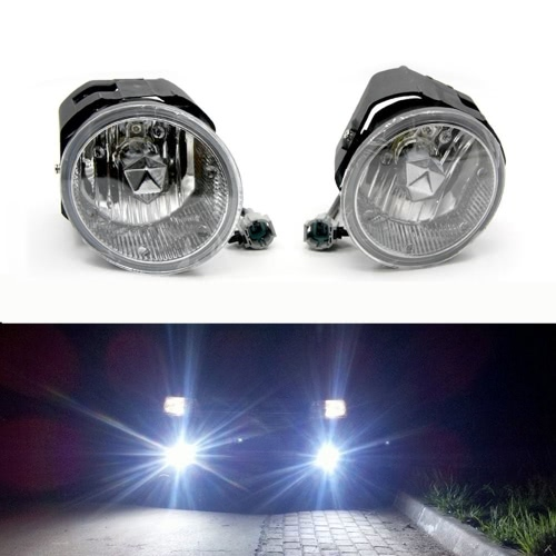 Tirol 2¡Á50W Front Fog Driving Lamp Kit OEM Replacement for Nissan X-trail/Frontier Pickup Truck Bumper Lamps K2310
