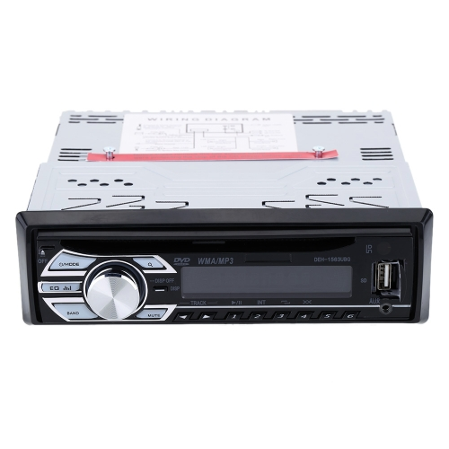 Car CD DVD MP3 Player In-Dash FM
