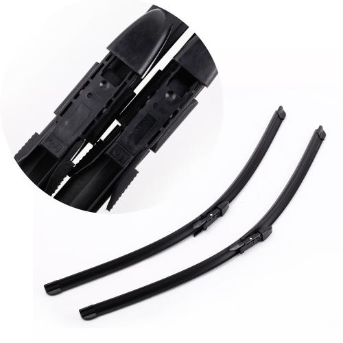 "2PCS 24""""+24"""" Windshield Wiper Blade Bracketless Rubber Arm Blade for BMW 5 SERIES E60 E61 03-10"" K2530"
