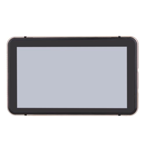 "7"" HD Touch Screen Portable Car GPS Navigation 128MB RAM 4GB FM Video Play Champagne Gold Car Navigator +Free Map от tomtop.com INT"