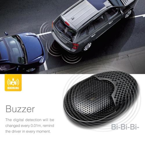 Buy Steelmate D1 High Technology 4 Sensors Parking Assist System Car Sensor Reverse Radar Alert External Buzzer Speaker