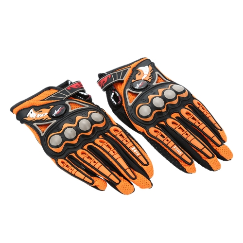 Pro-biker Full Finger Motorcycle Cycling Racing Riding Protective Gloves M L XL-TOMTOP от tomtop.com INT