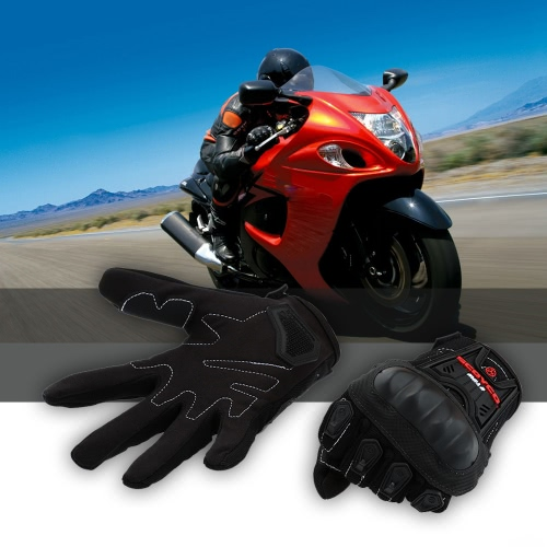 Scoyco MC12 Full Finger Carbon Safety Motorcycle Cycling Racing Riding Protective Gloves K2907L