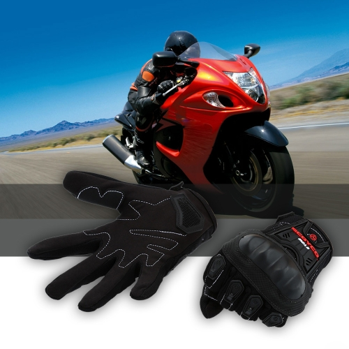 Scoyco MC12 Full Finger Carbon Safety Motorcycle Cycling Racing Riding Protective Gloves 11281
