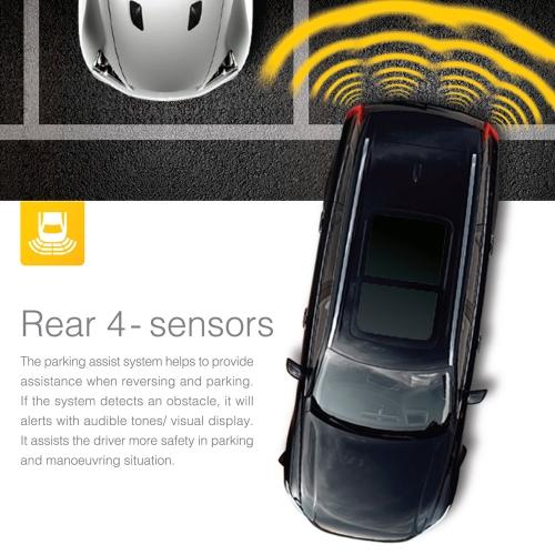 Buy Steelmate PD800 8 Sensors Parking Assist System Car Sensor Reverse Radar Alert