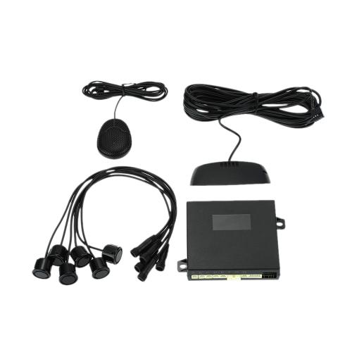Buy Steelmate D61 6 Sensors Parking Assist System Car Sensor Reverse Radar Alert LED Display