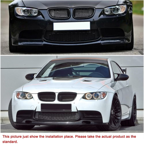 One Pair Black M-color Front Grille Car Grilles for BMW 2 Door E92/E93 06-10 от Tomtop.com INT