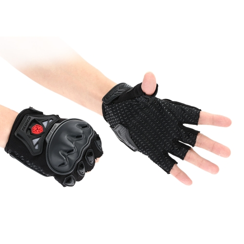 Scoyco MC29 Half Finger Motorcycle Cycling Racing Riding Protective Gloves K3052B-XL