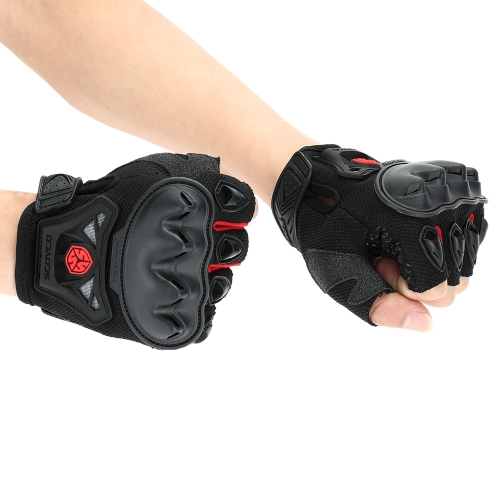 Half Finger Safety Bike Motorcycle Racing Gloves for SCOYCO MC29