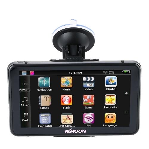 KKmoon 7 HD Touch Screen Portable GPS Navigator FM MP3 Video PlayerCar Audio &amp; Video Installation<br>KKmoon 7 HD Touch Screen Portable GPS Navigator FM MP3 Video Player<br><br>Blade Length: 21.0cm