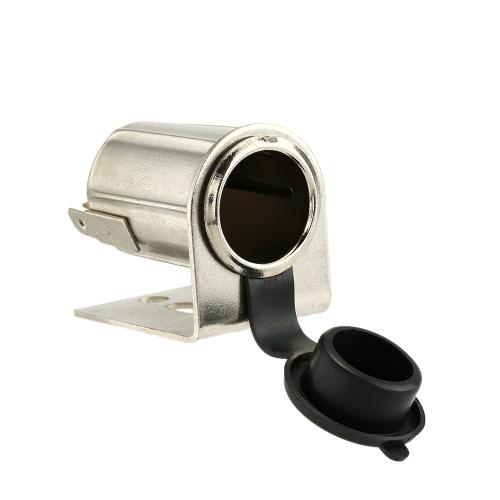 Image For Cigarrillo 12V de la motocicleta del zócalo del alumbrador puerto de alimentación del adaptador del cargador del enchufe