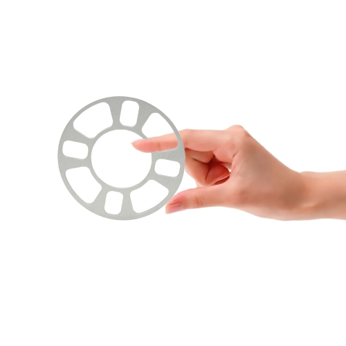 Universal Wheel Spacer Adapter 4 Hole 4mm Aluminum Wheel Fit 4 Lug 4x101.6 4x108 4x112 4x114.3 от Tomtop.com INT