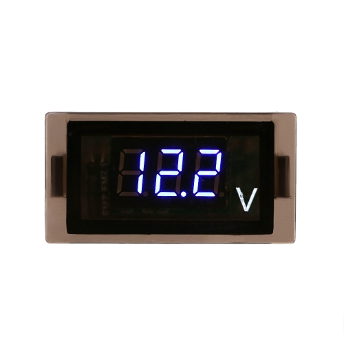 Waterproof Motorcycle LED Digital Display Voltage Voltmeter Panel 12V 24V DIY Accessory for Car Truck Boat от Tomtop.com INT