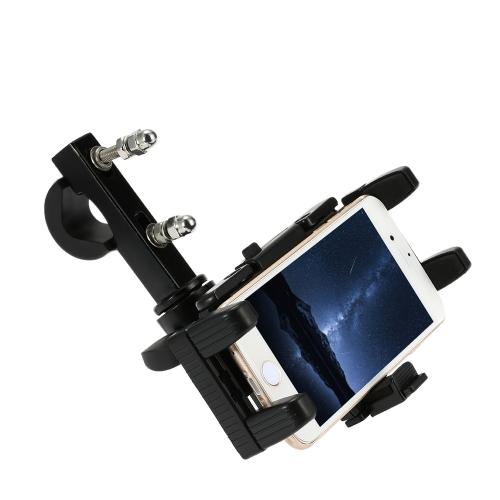 Motorcycle Large Screen Phone/GPS Navigator Holder Shock Resistant Motorbike/Bike/Scooter/ATV Stand Mount Bracket for Mobile Phone Interphone PDA от tomtop.com INT