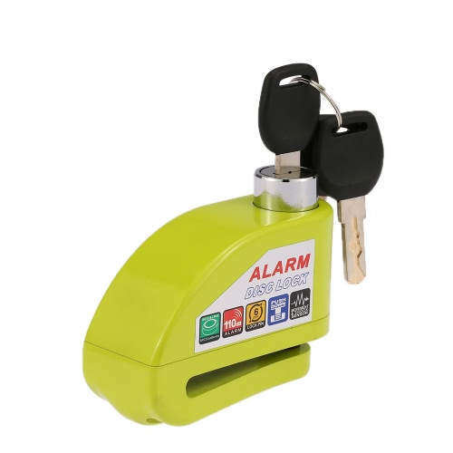 Motorcycle Scooter Bicycle Disc Brake Lock Security