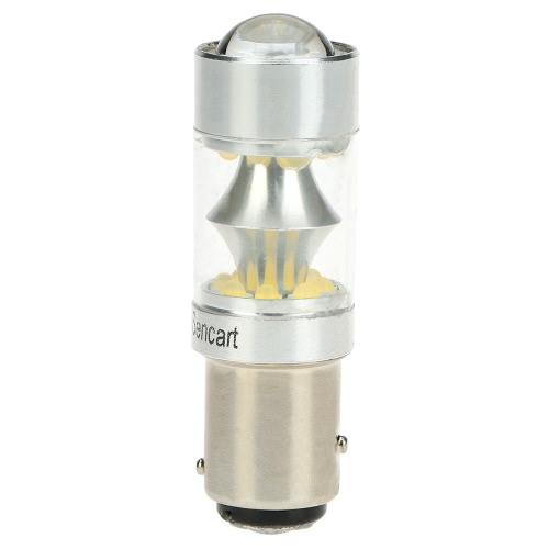 Sencart 100W 1157 P21/5W Ba15d 20*LED 12V-24V 2200LM 6500K Car Brake Stop Reversing Lamp Taillight Turn Signal Light от Tomtop.com INT
