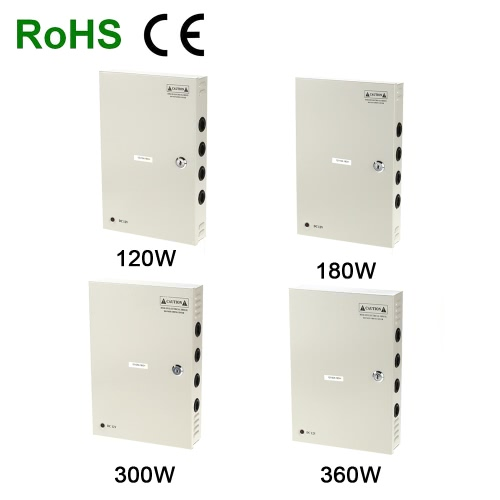 18CH AC110/220V To DC12V 10A 120W LED Driver Power Supply Box Adapter Transformer for CCTV Security Camera LED Strip String LightLighting Transformers<br>18CH AC110/220V To DC12V 10A 120W LED Driver Power Supply Box Adapter Transformer for CCTV Security Camera LED Strip String Light<br><br>Blade Length: 33.5cm