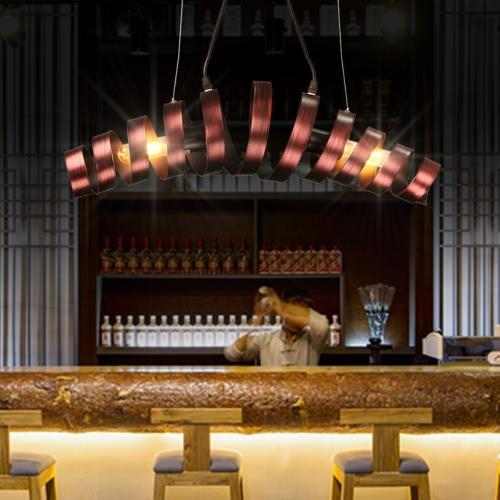 LIXADA 2 bras E26 / E27 AC110V suspendus au plafond pendentif lampe Vintage industriel rétro champêtre repas Salle Restaurant Bar Cafe éclairage utilisation
