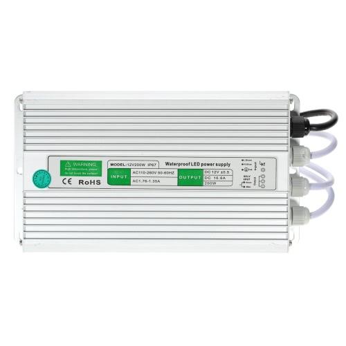 AC 90-250V DC 12V 8.5A 100W Tensão à prova d'água IP67 transformador alimentação para tira conduzida от Tomtop.com INT