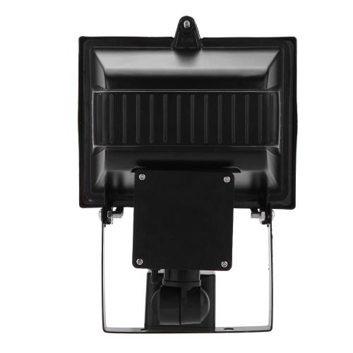 Haute Luminosité 80 LED Solaire Alimenté PIR Capteur de Lumière & du Mouvement Humain Corps Panneau de Lampe pour la Sécurité Extérieure Spotlight pour Pelouse Jardin Piscine Route d'étang Chemin Allée Blanc